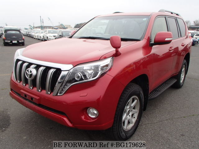 Used 2015 TOYOTA LAND CRUISER PRADO BG179628 for Sale