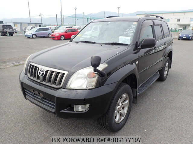Used 2008 TOYOTA LAND CRUISER PRADO BG177197 for Sale