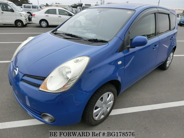 Used 2006 NISSAN NOTE BG178576 for Sale