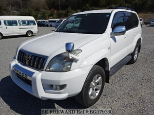 Used 2007 TOYOTA LAND CRUISER PRADO BG179130 for Sale