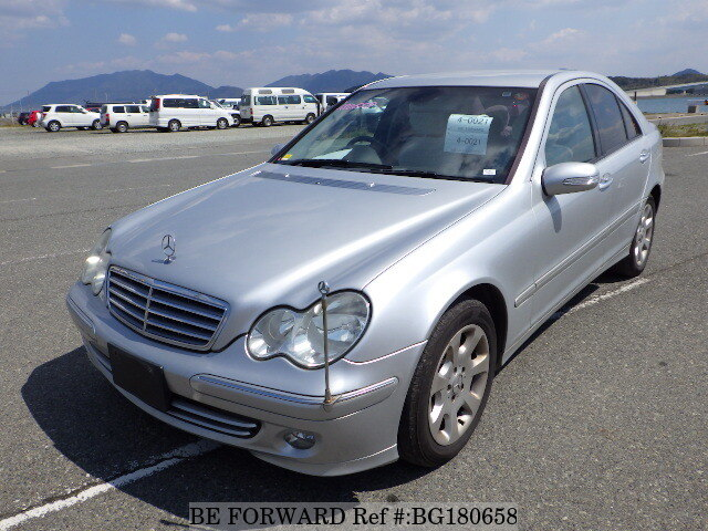 Used 2004 MERCEDES-BENZ C-CLASS BG180658 for Sale