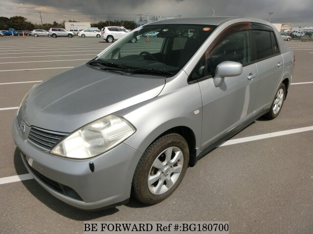 Used 2006 NISSAN TIIDA LATIO BG180700 for Sale