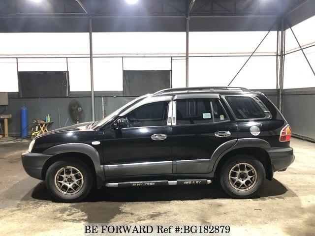 Used 2004 Hyundai Santa Fe For Sale Bg182879 Be Forward
