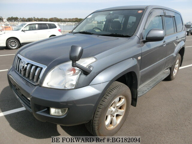 Used 2002 TOYOTA LAND CRUISER PRADO BG182094 for Sale