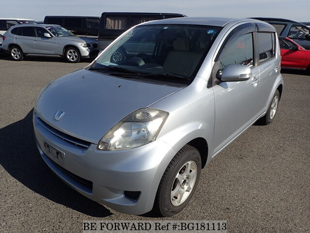 Used 2007 TOYOTA PASSO X F PACKAGE/DBA-KGC10 for Sale BG181113 - BE