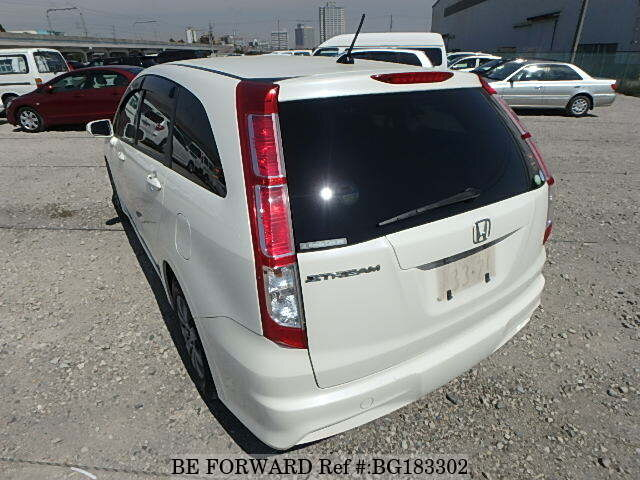 Used 2010 HONDA STREAM X HDD NAVI PACKAGE/DBA-RN6 for Sale BG183302
