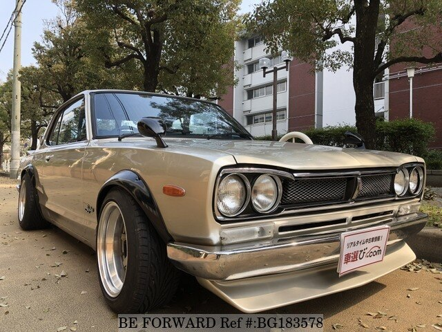 Used 1972 NISSAN SKYLINE COUPE BG183578 for Sale