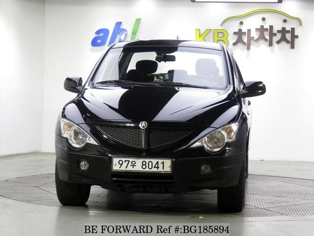 Used 2009 SSANGYONG ACTYON BG185894 for Sale