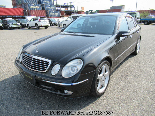Used 2004 MERCEDES-BENZ E-CLASS BG187587 for Sale