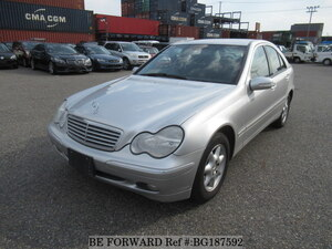 Used 2002 MERCEDES-BENZ C-CLASS BG187592 for Sale