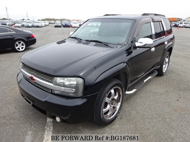 Used 2003 CHEVROLET TRAILBLAZER BG187681 for Sale
