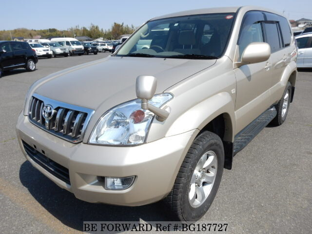 Used 2007 TOYOTA LAND CRUISER PRADO BG187727 for Sale