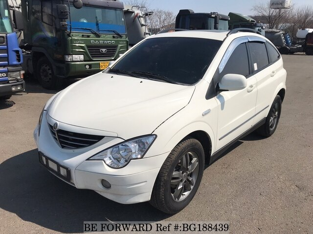 Used 2009 SSANGYONG ACTYON BG188439 for Sale