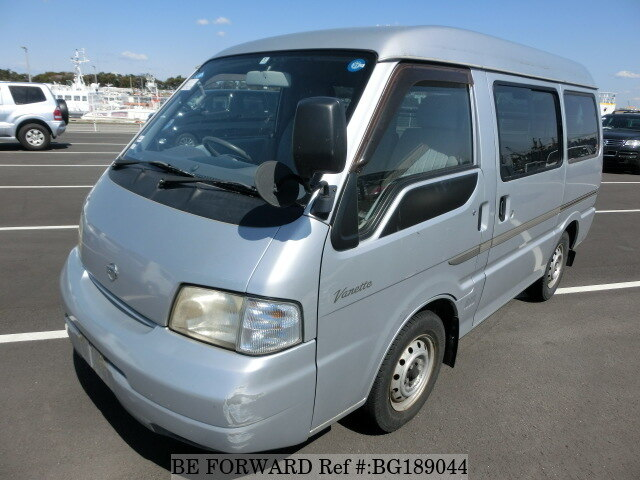 deee026f06 Used 2002 NISSAN VANETTE VAN GL GC-SK82VN for Sale BG189044 - BE FORWARD