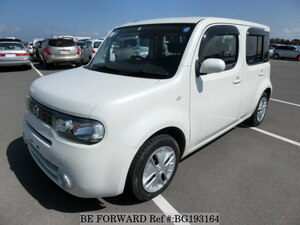 Used 2011 NISSAN CUBE BG193164 for Sale