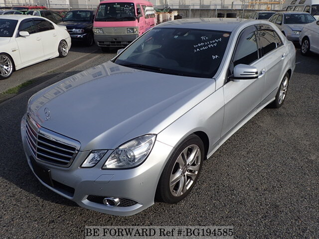 Used 2010 MERCEDES-BENZ E-CLASS BG194585 for Sale