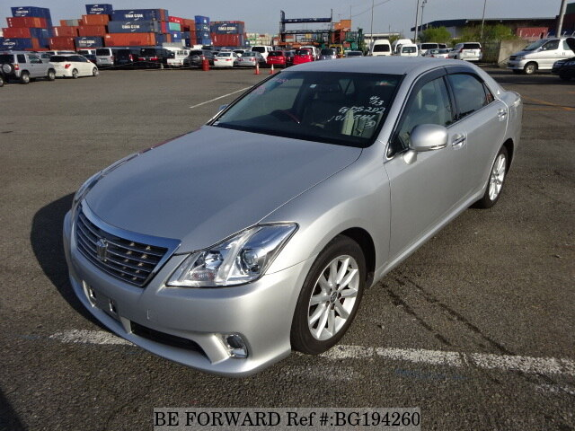 Used 2012 TOYOTA CROWN BG194260 for Sale