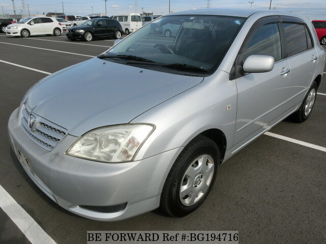 Used 2003 TOYOTA ALLEX BG194716 for Sale
