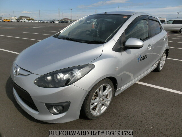 Used 2008 MAZDA DEMIO BG194723 for Sale
