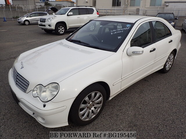 Used 2005 MERCEDES-BENZ C-CLASS BG195456 for Sale