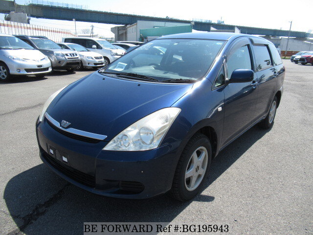 Used 2004 TOYOTA WISH BG195943 for Sale