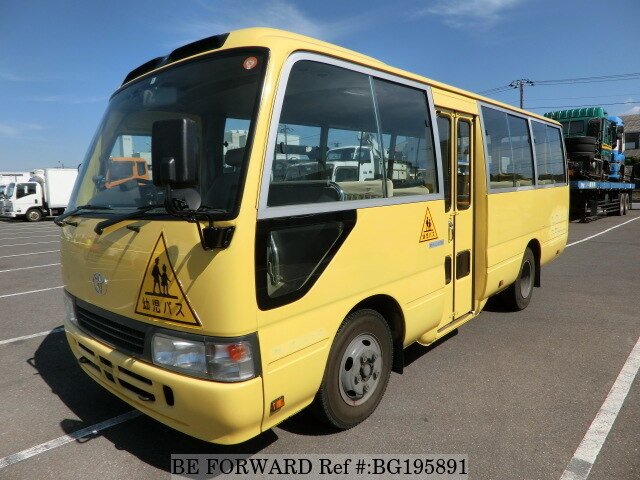 2a70ad20c4 Used 2007 TOYOTA COASTER KIDS BUS PB-XZB40 for Sale BG195891 - BE ...