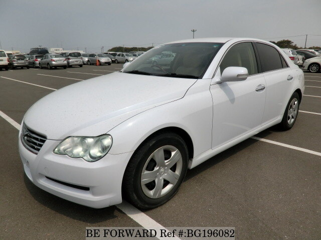 Used 2008 TOYOTA MARK X BG196082 for Sale