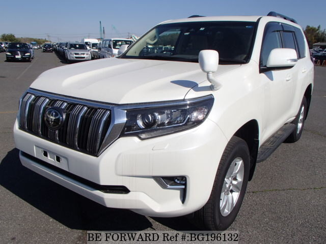 Used 2017 TOYOTA LAND CRUISER PRADO BG196132 for Sale