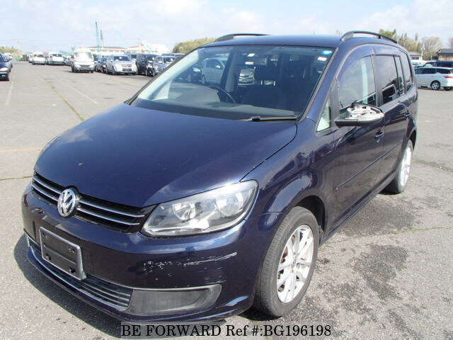 Used 2012 VOLKSWAGEN GOLF TOURAN BG196198 for Sale