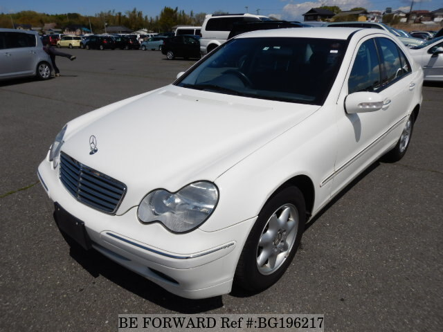 Used 2003 MERCEDES-BENZ C-CLASS BG196217 for Sale