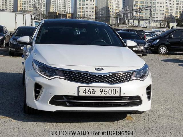 Used 2017 Kia K5 Optima Bg196594 For Image