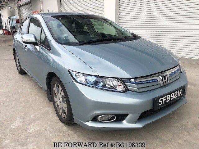 Used 2017 Honda Civic Hybrid Bg198339 For