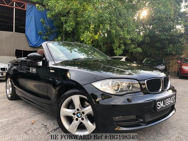 Used 2009 BMW 1 SERIES/Cabrioret for Sale BG198340 - BE FORWARD