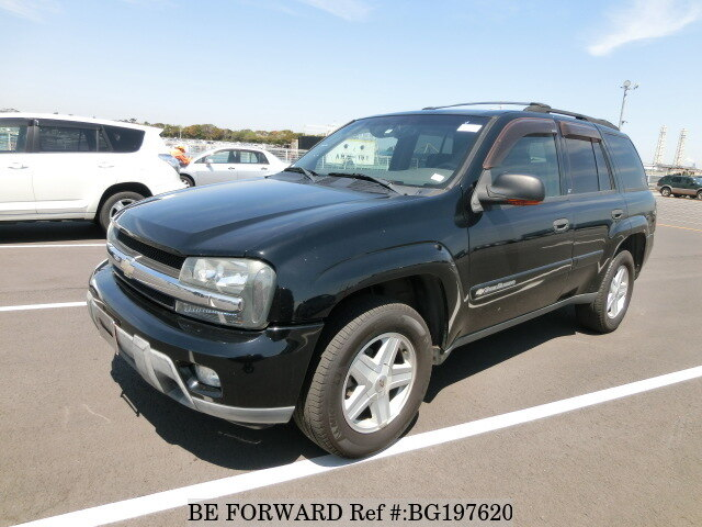 Used 2002 CHEVROLET TRAILBLAZER BG197620 for Sale