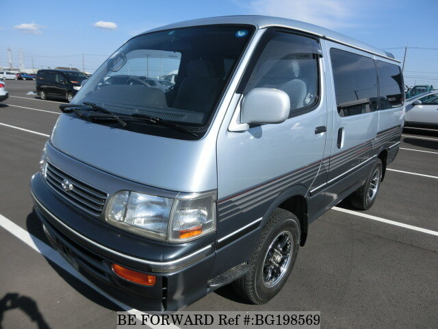 Used 1993 TOYOTA HIACE WAGON BG198569 for Sale