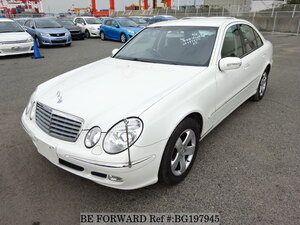 Used 2002 MERCEDES-BENZ E-CLASS BG197945 for Sale