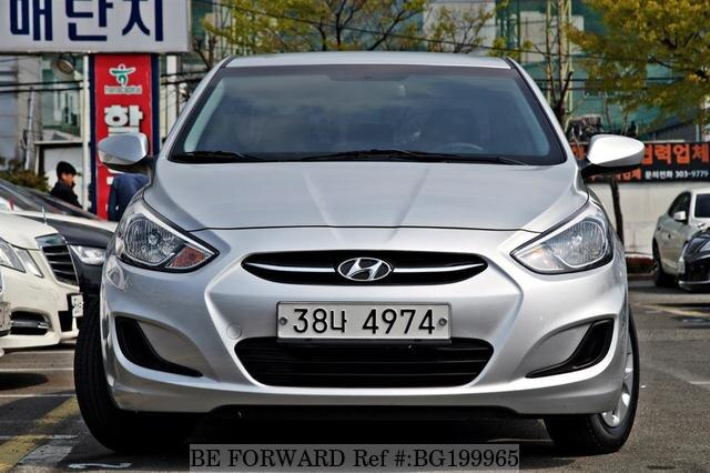 Used Hyundai Accent >> Used 2015 Hyundai Accent For Sale Bg199965 Be Forward