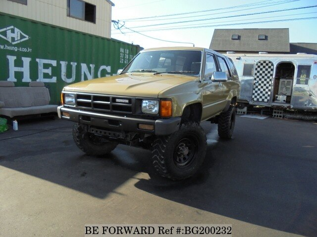 Used 1987 TOYOTA HILUX SURF BG200232 for Sale