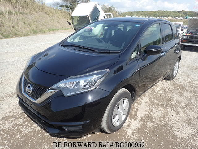 Used 2017 NISSAN NOTE BG200952 for Sale