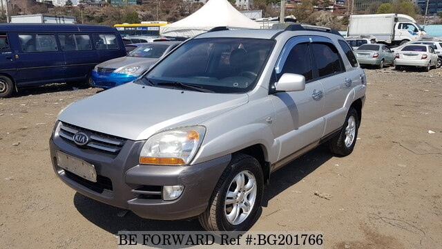 Used 2007 KIA SPORTAGE BG201766 for Sale