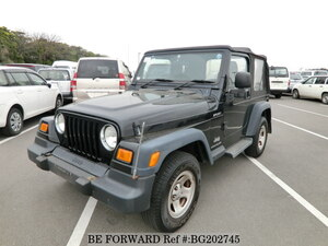 Used 2003 JEEP WRANGLER BG202745 for Sale