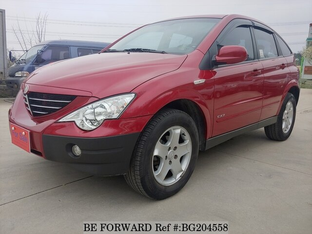 Used 2006 SSANGYONG ACTYON BG204558 for Sale