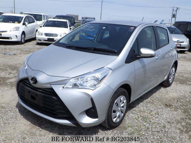 Used 2018 Toyota Vitz F M Package Dba Ksp130 For Sale Bg203845 Be