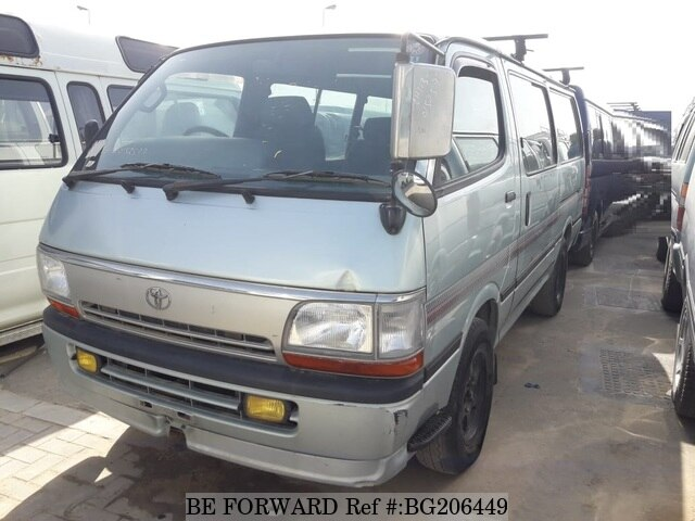 0980c9c1ce Used 1997 TOYOTA HIACE VAN for Sale BG206449 - BE FORWARD