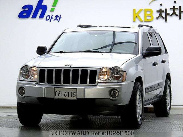 Used 2005 JEEP GRAND CHEROKEE BG291500 for Sale