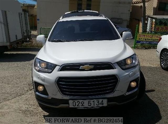 Used 2017 Chevrolet Captiva Bg292454 For
