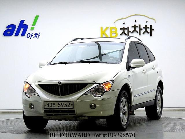 Used 2009 SSANGYONG ACTYON BG292570 for Sale