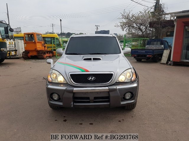 Used 2003 HYUNDAI TERRACAN BG293768 for Sale