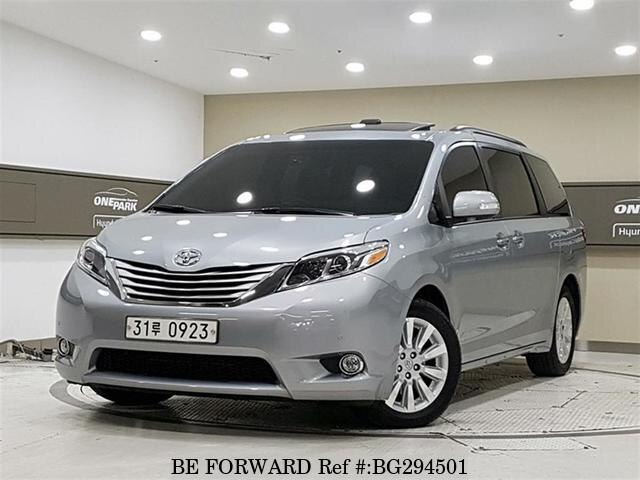 2015 Toyota Sienna For Sale >> Used 2015 Toyota Sienna For Sale Bg294501 Be Forward