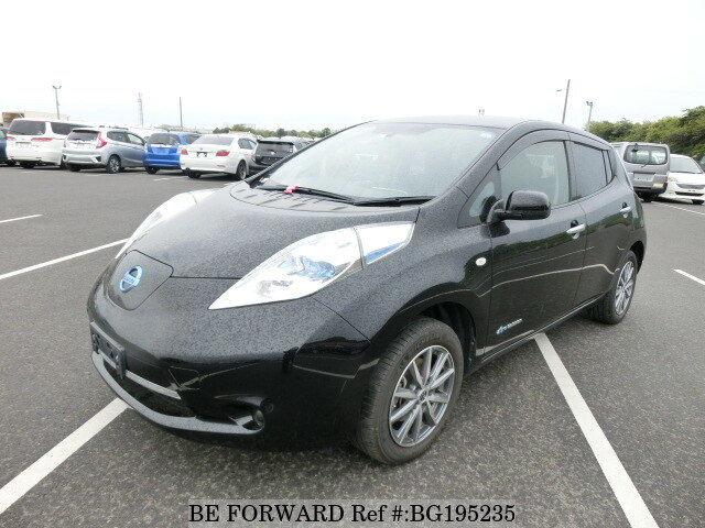 Used 2013 NISSAN LEAF BG195235 for Sale